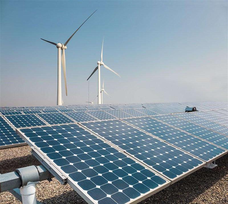 太阳能及风电领域